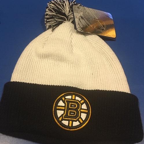 Bruins NHL licensed Pom Pom Winter Hat