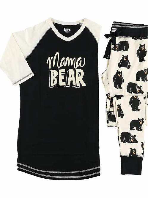 Mama Bear Pajama Set