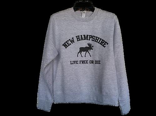 New Hampshire Crew Neck Sweatshirt