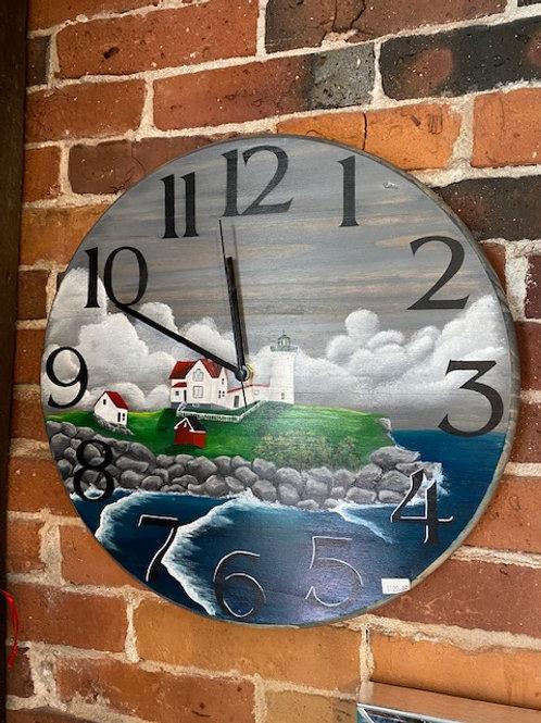 Nubble Lighthouse Clock by SE Strokes