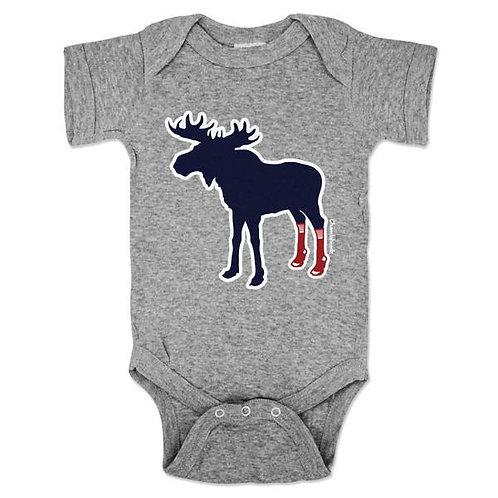 Sox on Moose Onesie