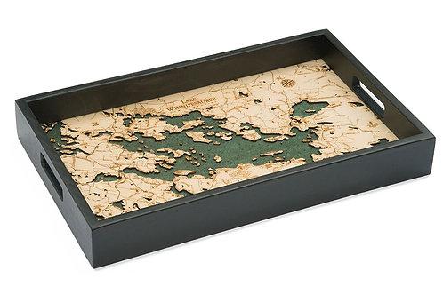Lake Winnipesaukee 3D Depth Chart Tray