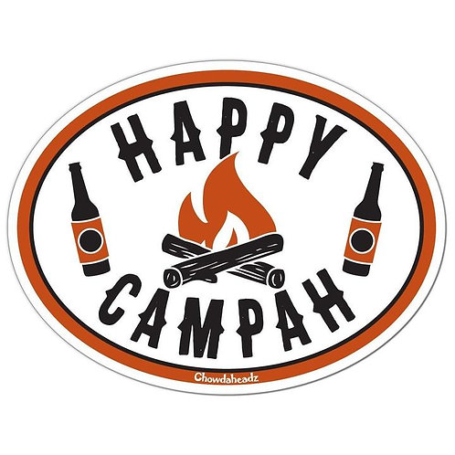 Happy Campah Sticker