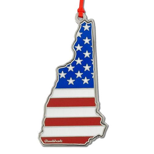 New Hampshire USA Ornament