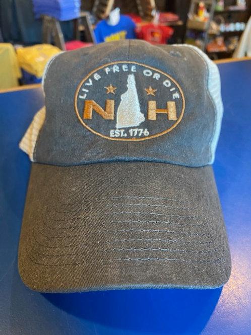 NH Live Free or Die Trucker Hat