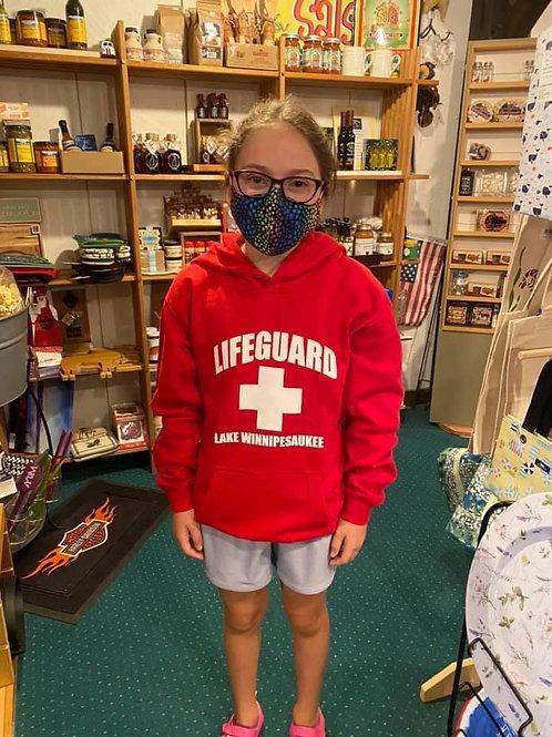 Youth Lifeguard Lake Winnipesaukee Sweatshirt