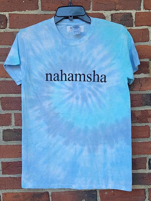 Nahamsha Tie Dye Tee - Blue