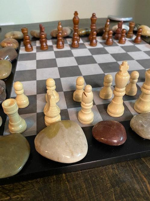 Rustic Chess Set
