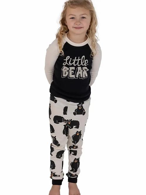 Little Bear Long Sleeve Kid's PJ's