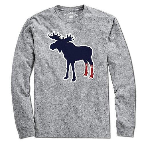 Sox on Moose Long Sleeve