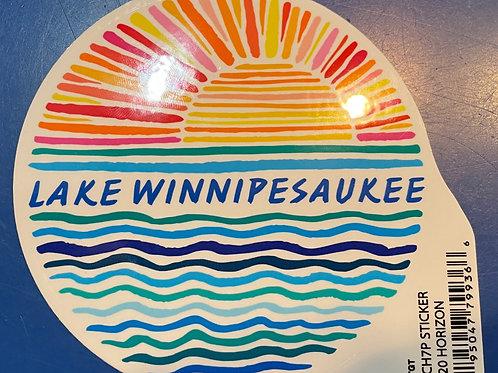 LW Sunrise Sticker
