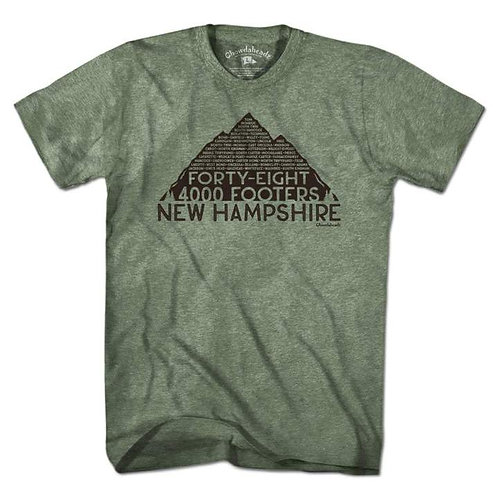 New Hampshire 4,000 Footer Tee