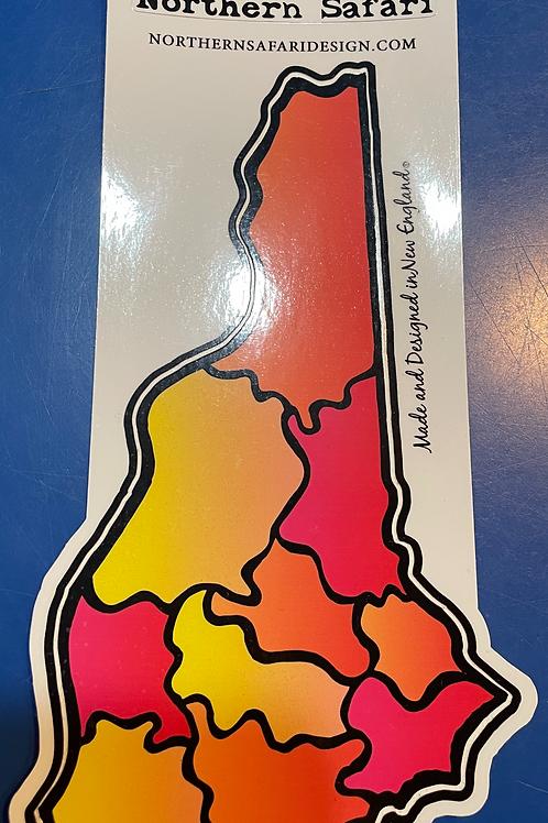Northern Safari NH Sticker