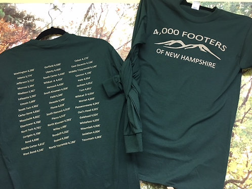 4000 Footers of NH Long Sleeve Tee