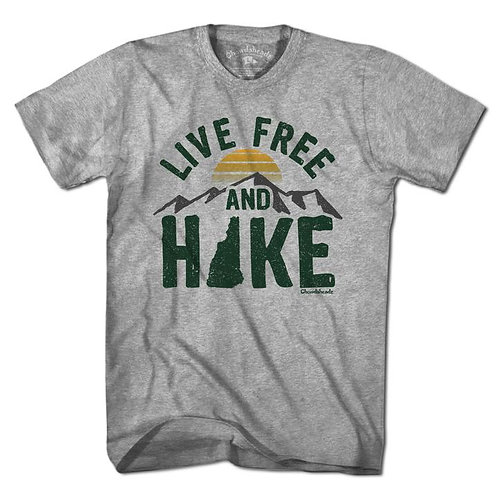 Live Free and Hike Short Sleeve Tee
