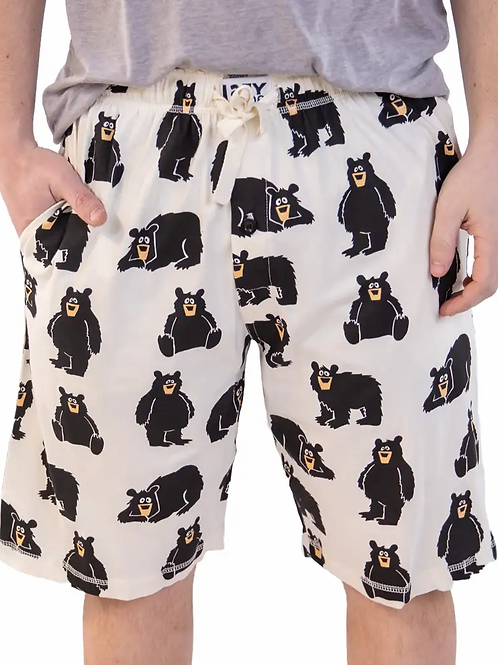 Bear Men's Pajama Shorts