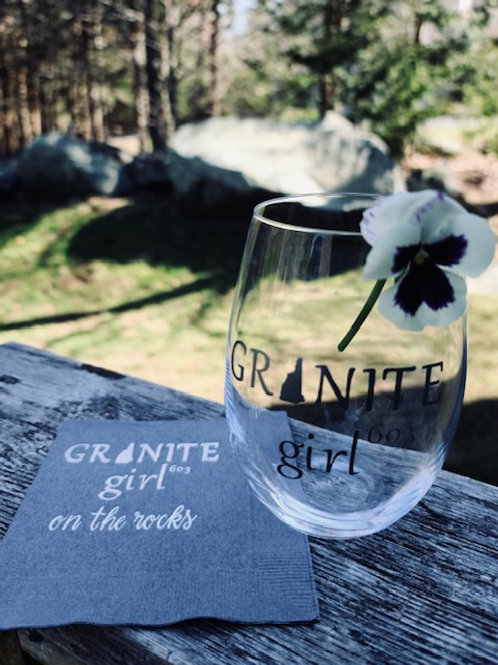 Granite Girl Cocktail Napkins