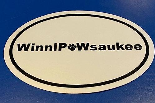 WinniPAWsaukee Decal