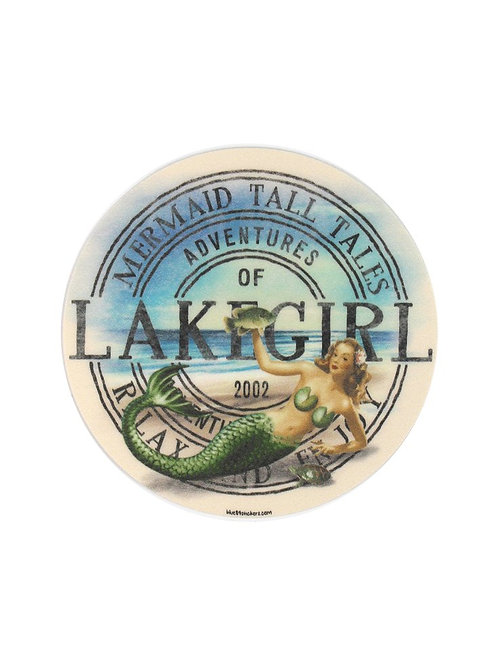 Lakegirl Mermaid Sticker
