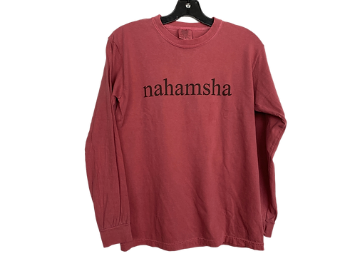 Nahamsha Long Sleeve - Red