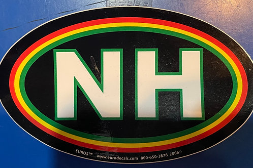 Red Yellow Green NH Sticker
