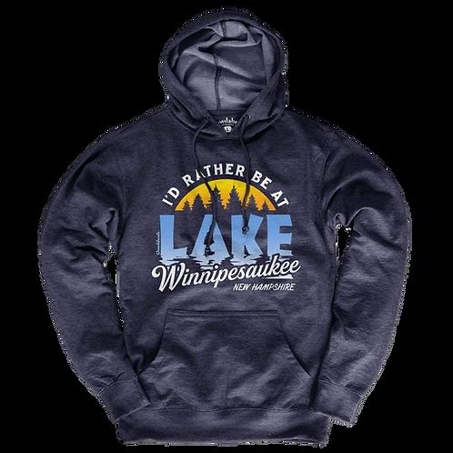 I'd Rather Be At Lake Winnipesaukee Hoodie
