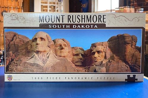Mount Rushmore 1000 piece panoramic puzzle