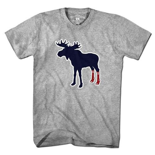 Sox on Moose Short Sleeve Tee