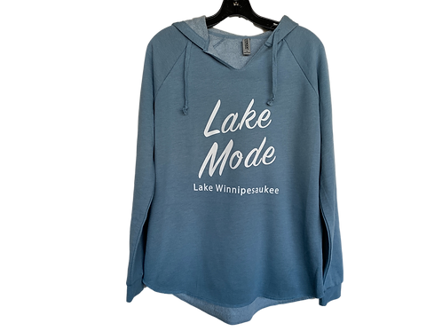 Lake Mode Winnipesaukee Hoodie