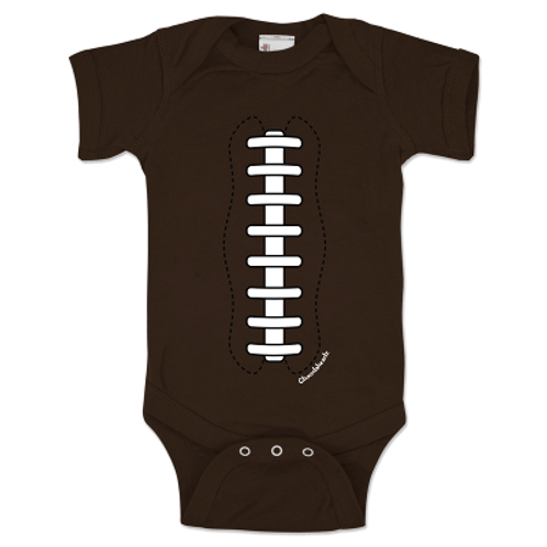 Football Laces Infant One Piece