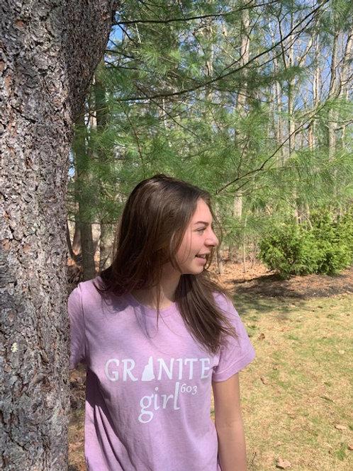 Granite Girl Lilac Tee