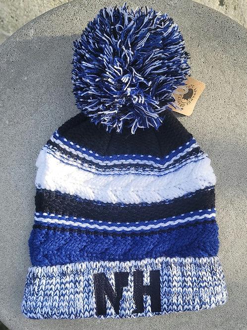 Winter Knit Pom NH Hat