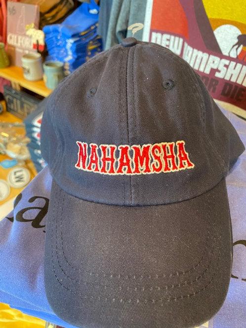 """Nahamsha Cap in """"red sox"""" font"""