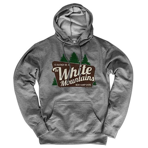White Mountains New Hampshire Hoodie