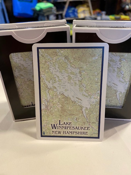 Lake Winnipesaukee Playing Cards