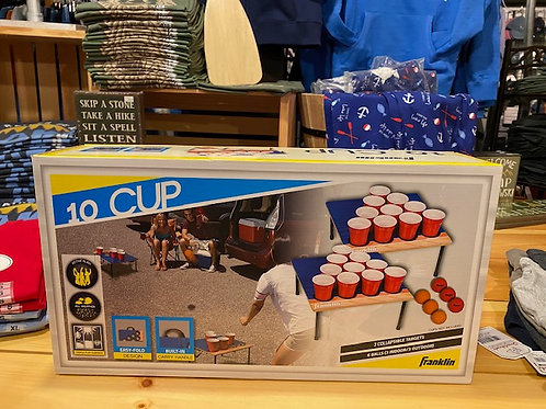 10 CUP Beer Pong Game