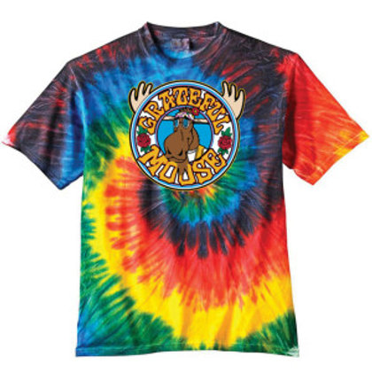 The Grateful Moose Tie-Dye Tee