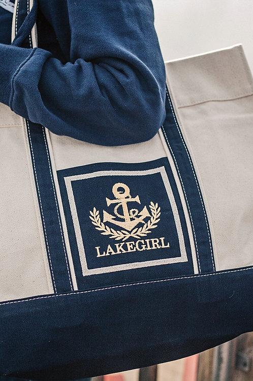 Lakegirl Anchor Tote