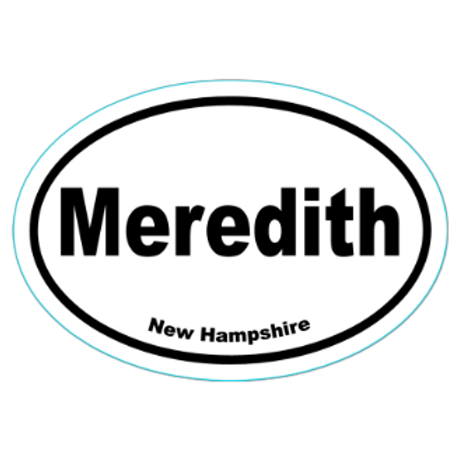 Meredith New Hampshire Sticker