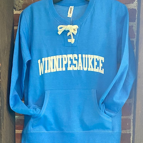 Winnipesaukee Women's Lace Up Crew Sweatshirt