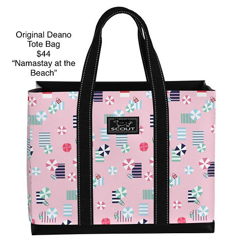 Original Deano Tote Bag - Namastay at the Beach