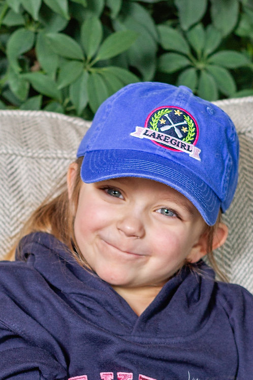 Youth Lily Patch Amparo Blue Cap