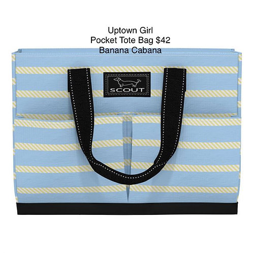 Uptown Girl Pocket Tote