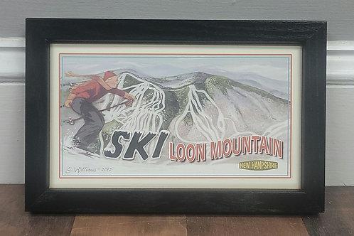 Ski Loon Mountain Sign