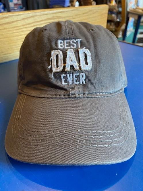 "Best Dad Ever ""Man Made"" Hat"