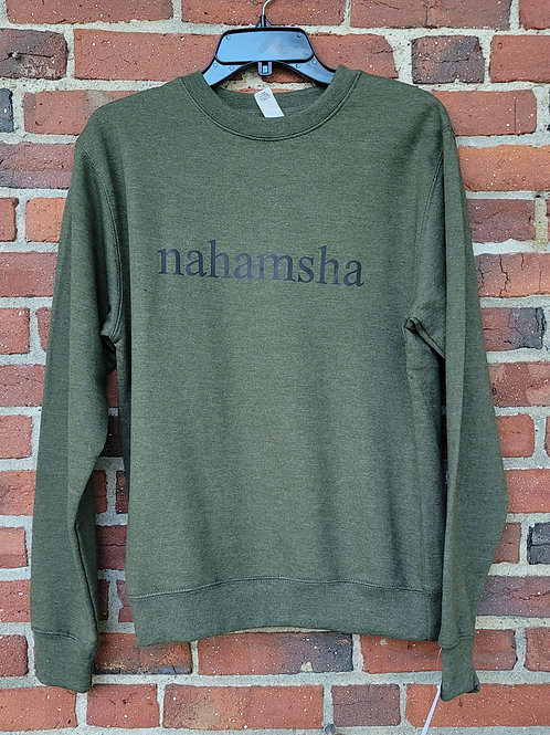 Nahamsha Crewneck Sweatshirt - Green