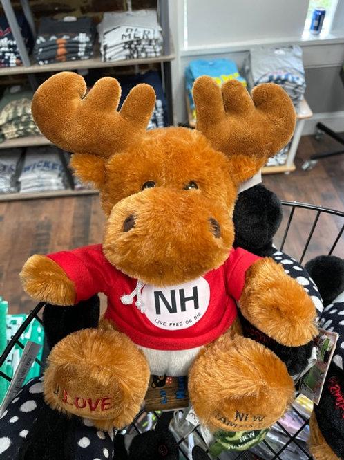 Stuffed Animal New Hampshire Moose