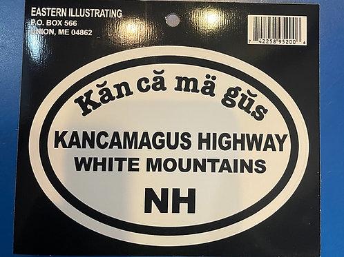 Kancamagus Highway Sticker