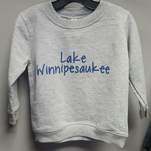 Toddler Lake Winnipesaukee Crewneck