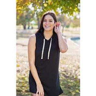 Lakegirl Sleeveless Hooded Dress